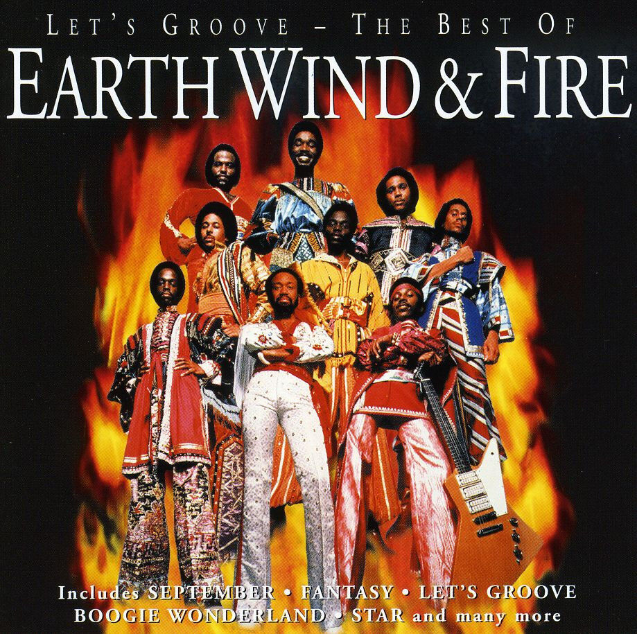 Earth Wind And Fire LET'S GROOVE Best Of 17 Song Collection NEW SEALED CD 5099748651129 | eBay