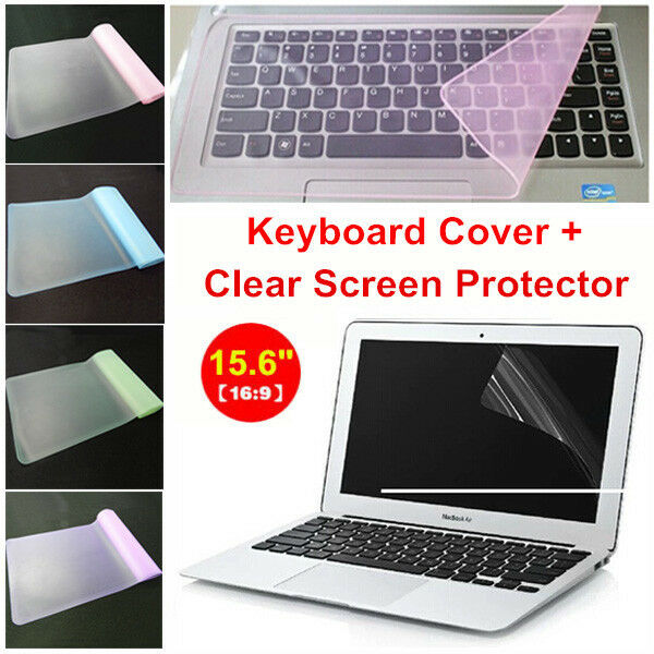 "Clear 15.6"" Laptop Notebook LCD Monitor Screen Protector ..."