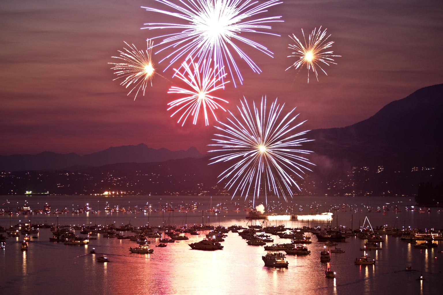 Vancouver Fireworks Celebration Of Light 2013 Survival Guide