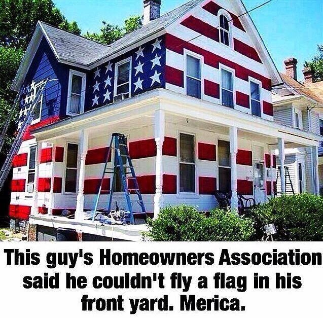 This guy got told by the Homeowner's association that he ...