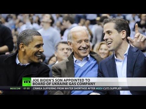 Joe Biden's son joins board of Ukraine gas giant - YouTube