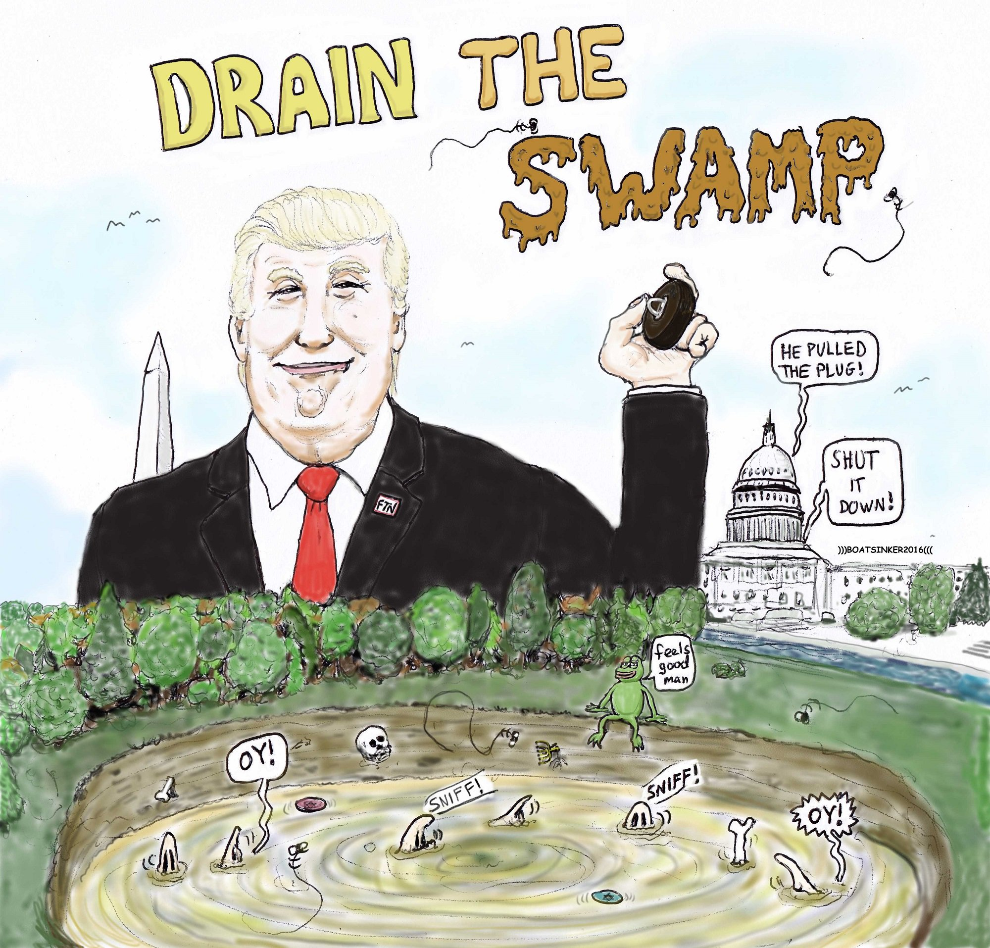 Drain the Swamp | Know Your Meme