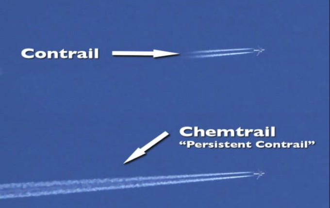 Chemtrail and Contrail