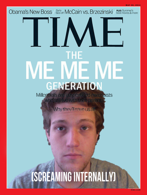 [Image - 542571] | Time Magazine Cover: Me Me Me ...