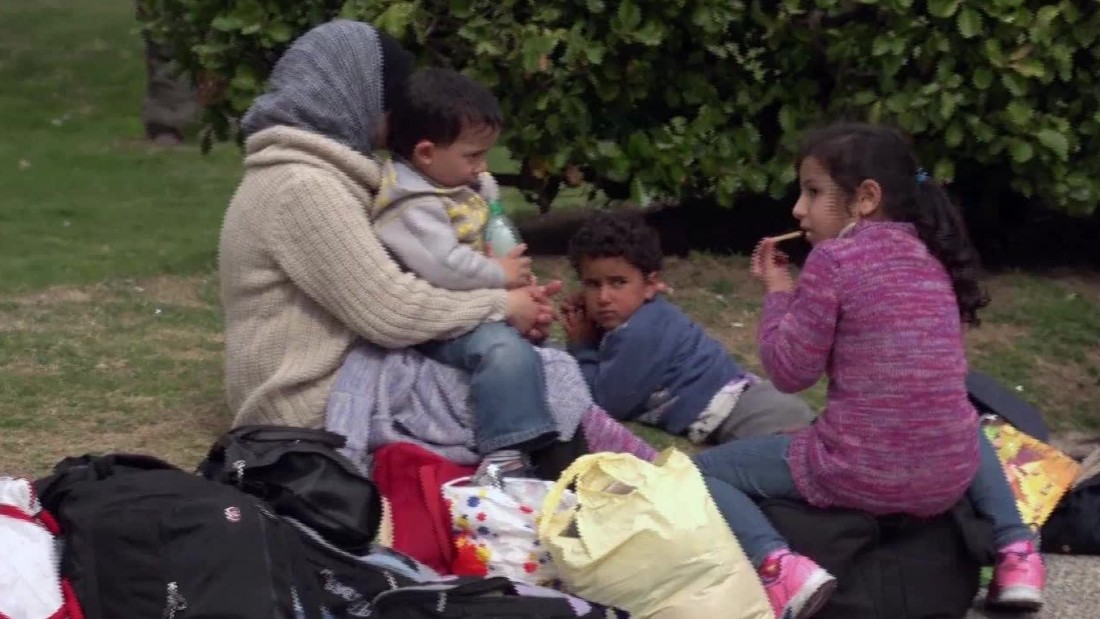Resettled refugee: 'I want to go back to Syria' - CNN Video