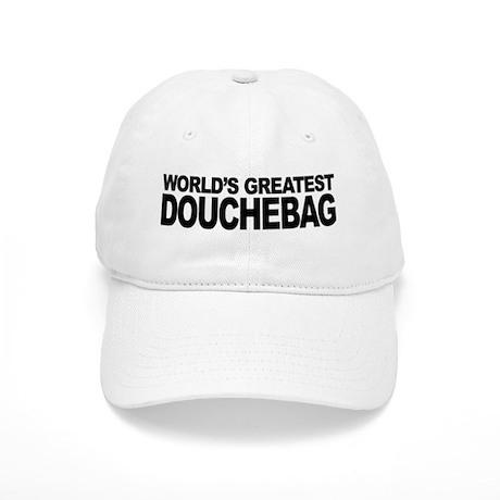 Worlds Greatest Douchebag Cap by myshirtsucks