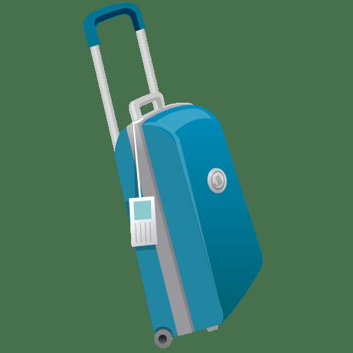 Suitcase Icon | Summer Blue Iconset | DaPino