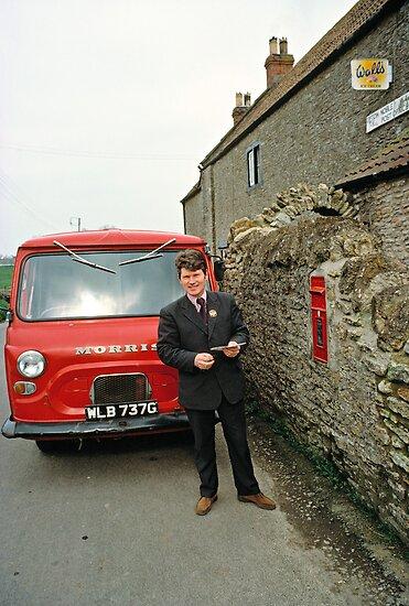"""""""Village Postman, Somerset, England, UK, 1970s."""" by David ..."""