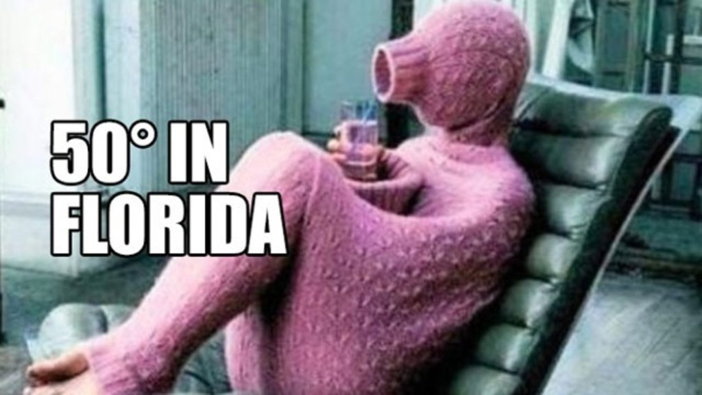 The 10 Best Florida Winter Memes: Volume II - I Love South ...