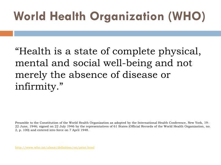 PPT - Welcome to Seminar HW215 Models of Health and ...