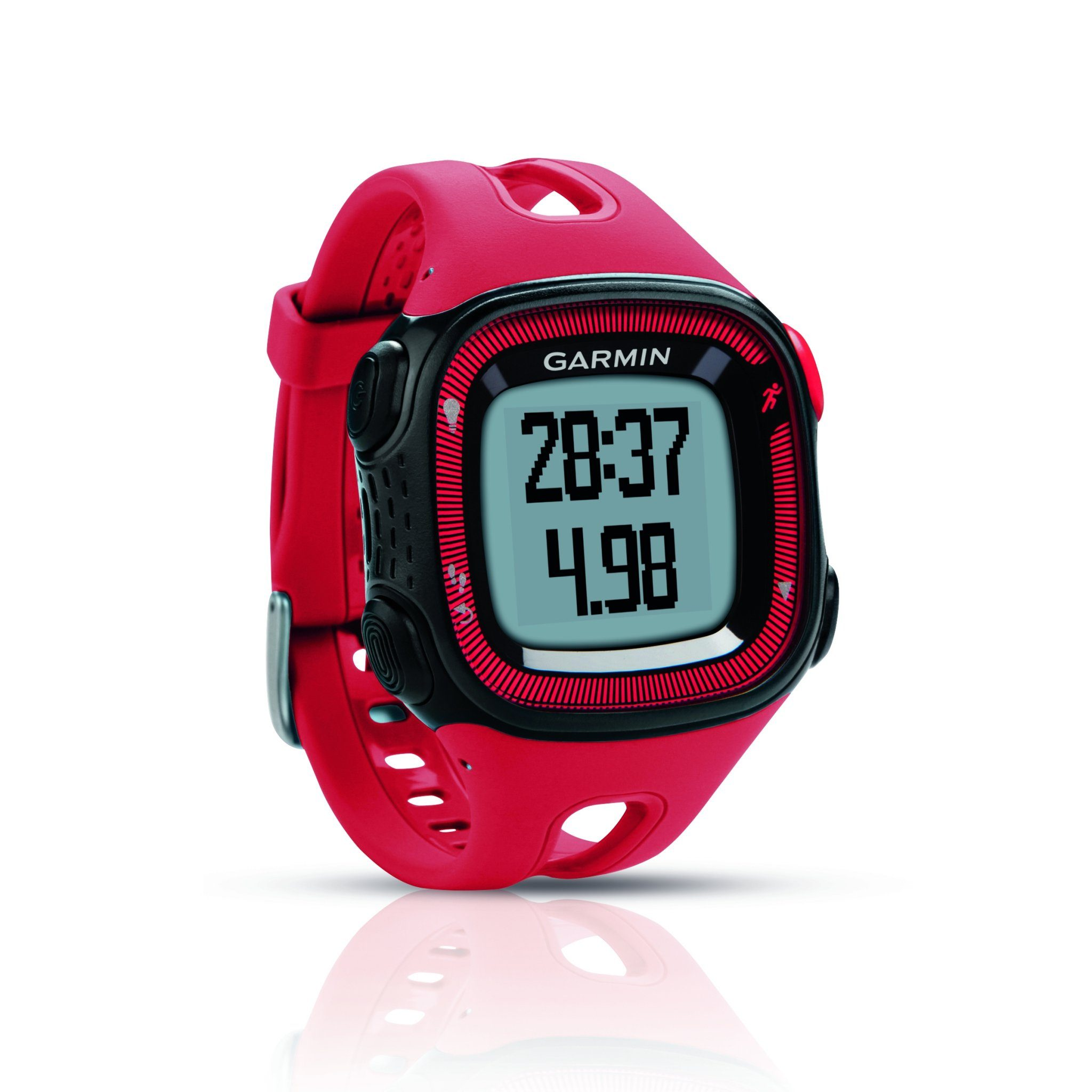 GARMIN Forerunner 15 GPS Running Watch - Red & Black | eBay