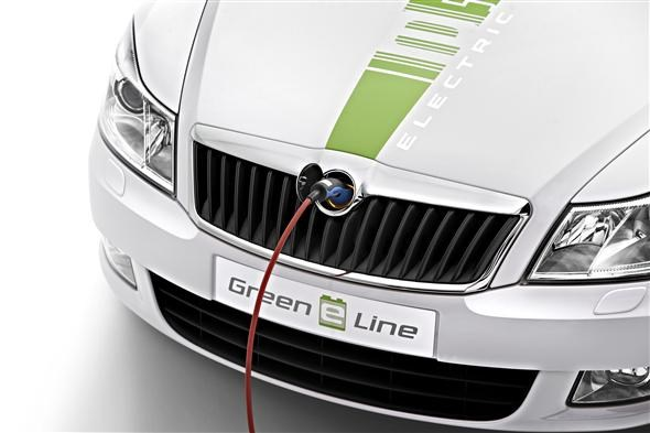 Skoda shows off electric car | Parkers