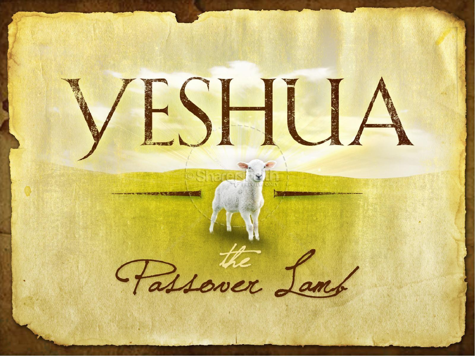 Yeshua Passover Church PowerPoint