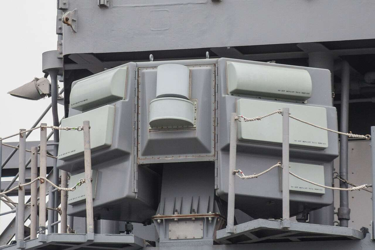 American Destroyer Packed New Electronic Warfare System ...
