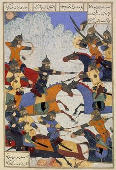 The Beginning of the War Between Iran and Turan (Shahnameh ...