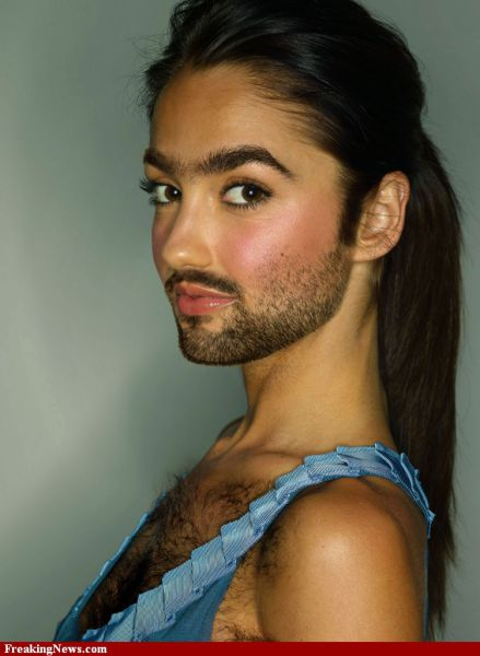 Famous Women Sprout Beards. Part 2 (48 pics) - Picture #14 ...