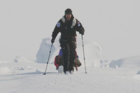 Explorer in bid to become first person to reach North and ...