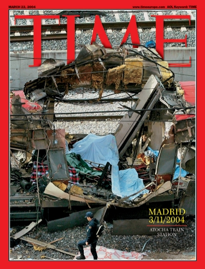 TIME Magazine Cover: Madrid 3/11/2004 - Mar. 22, 2004 ...