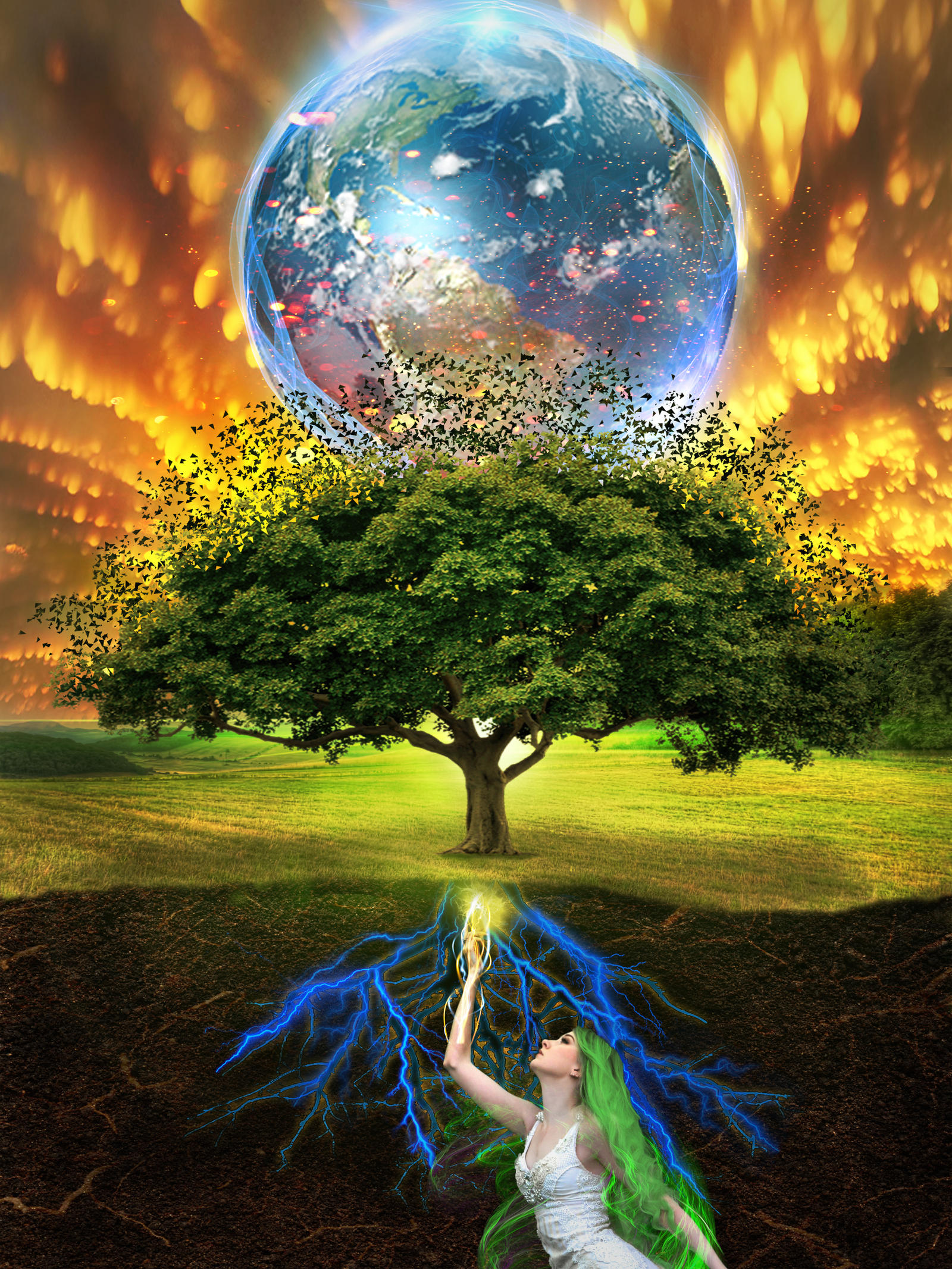 Gaia Tree of Life by AtsaL78 on DeviantArt