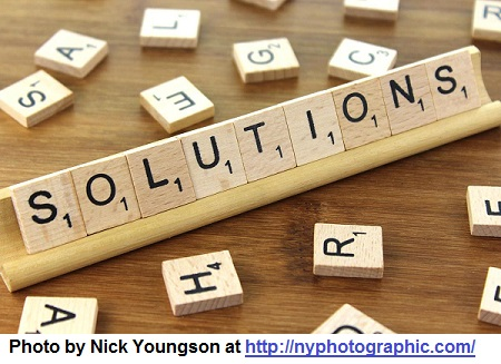 Focus on solutions, not problems. - Dr. Ivan Misner®
