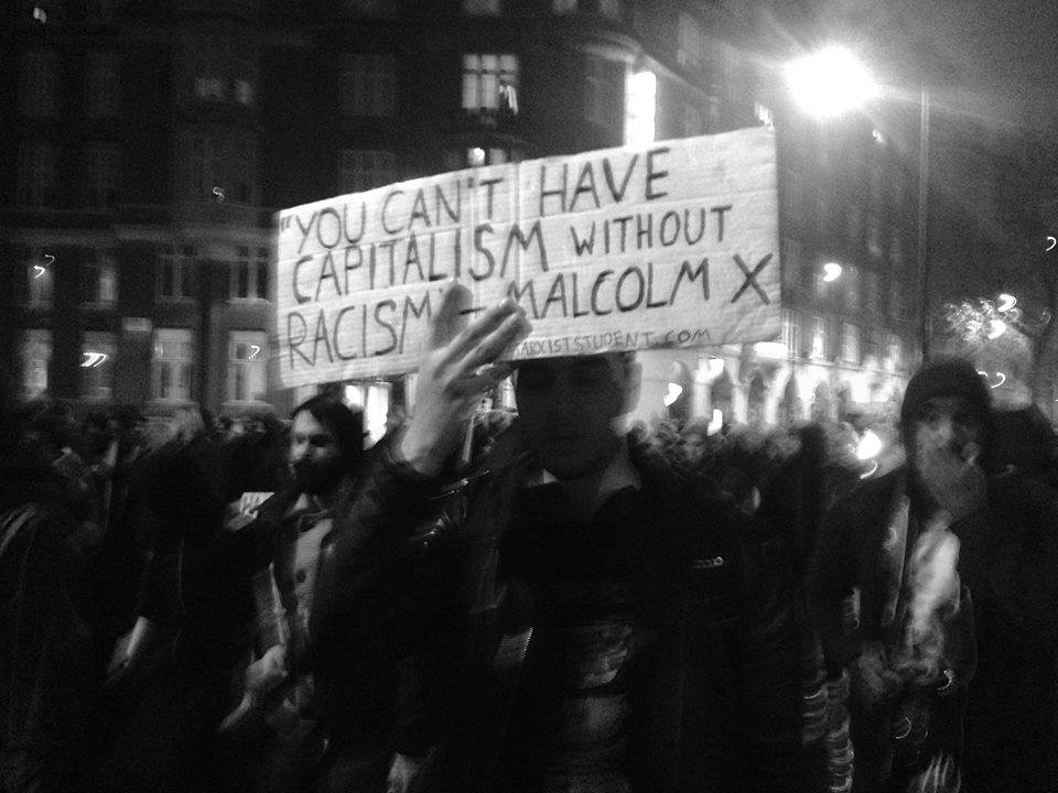You can't have capitalism without racism – solidarity with ...