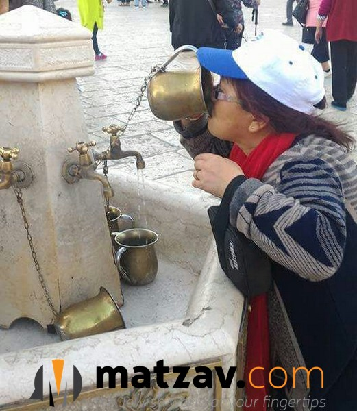 Tourists at the Kosel Today Mistaken Washing Cups for ...
