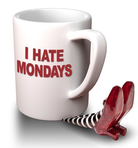 I hate Mondays! | Coffee | Pinterest