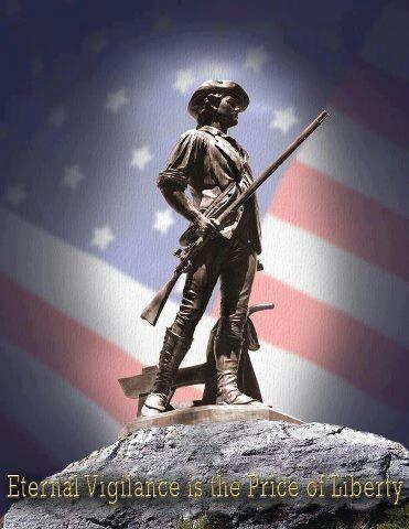 Vigilance: The Price Of Liberty Is Eternal Vigilance