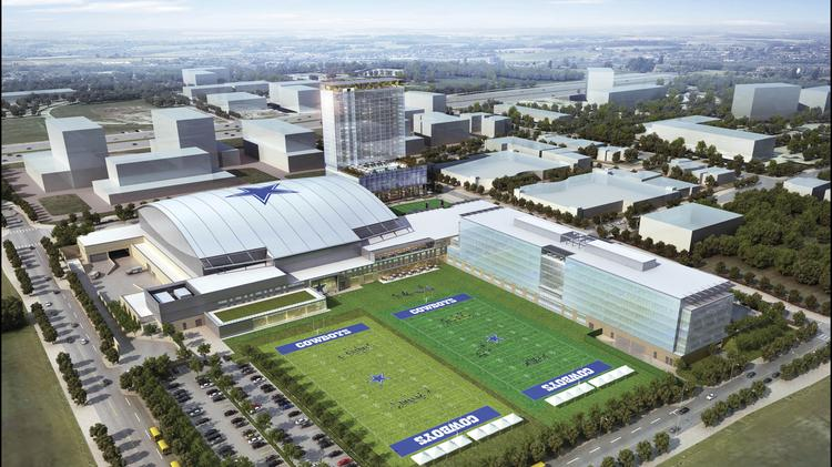 Frisco City Council approves price tag for new Cowboys ...