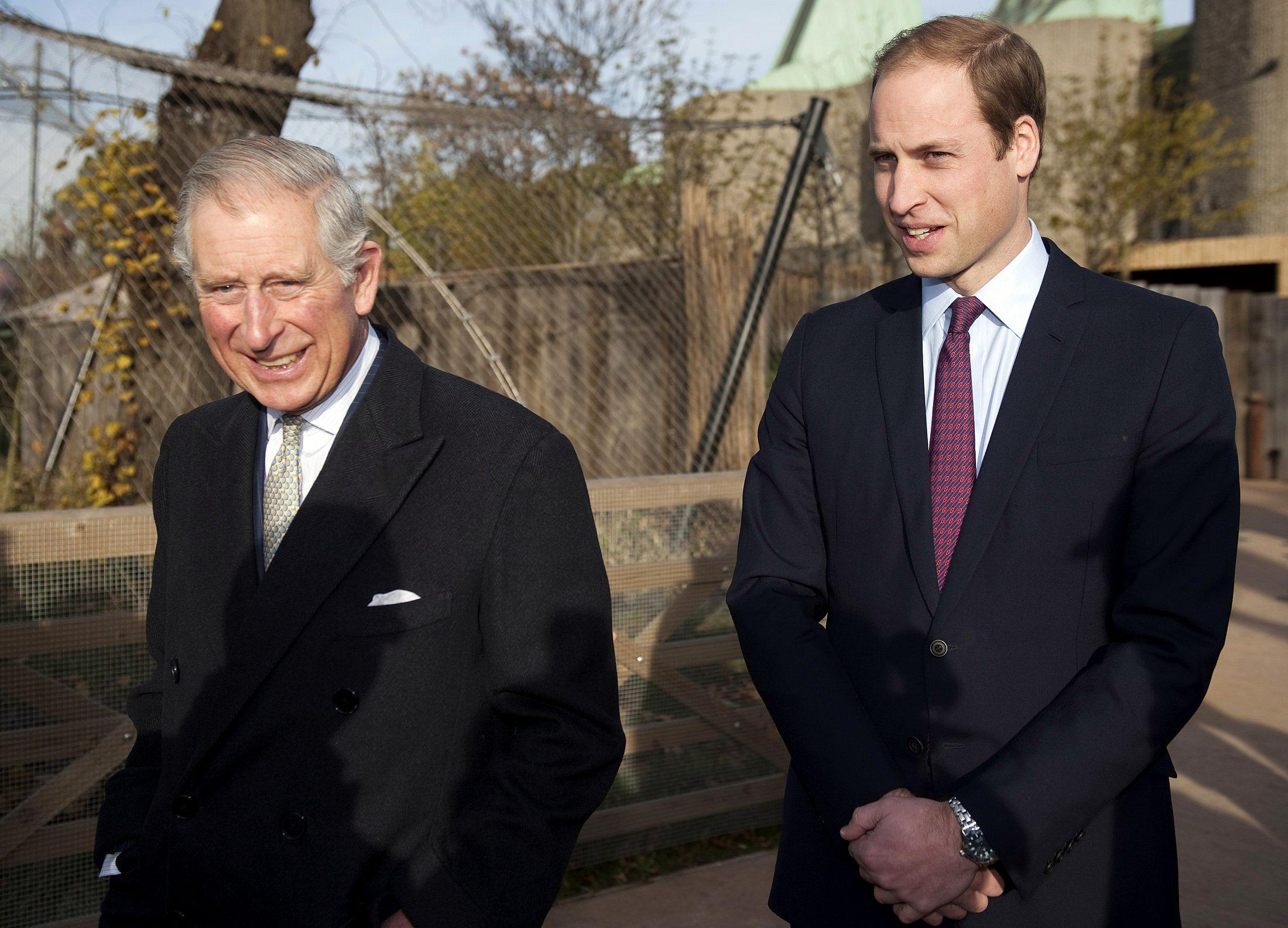 Prince Charles and Prince William Team Up for Endangered ...