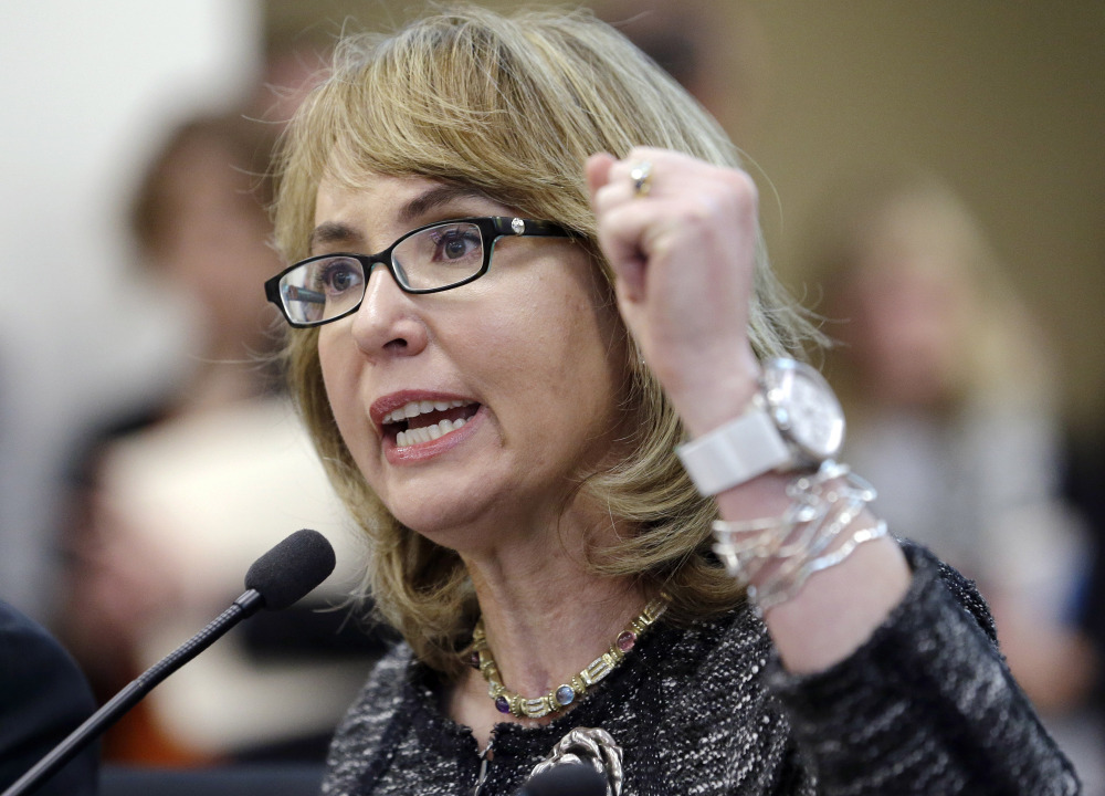Gabrielle Giffords visits Maine as part of push on gun ...