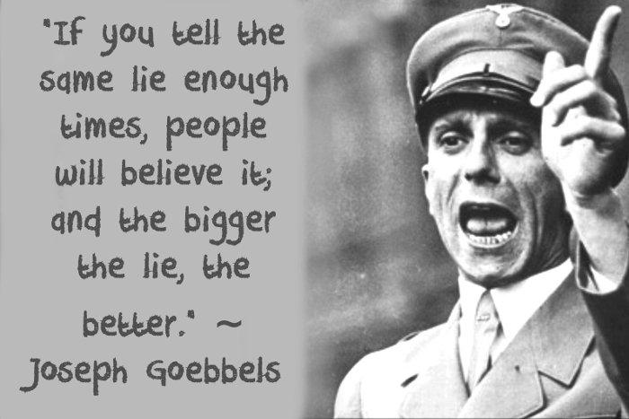 On Trump, Many Big Lies and Us