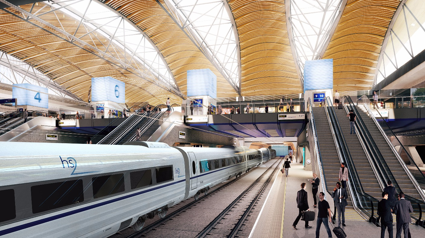 HS2 trains 'ready to happen' and will run by next decade ...