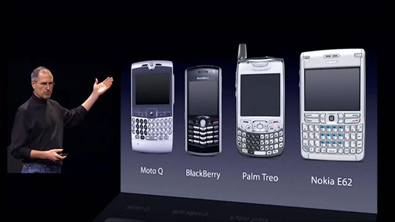 Phones before iPhone, 2007 | Obama Pacman