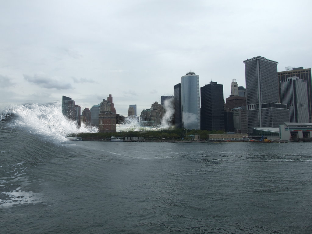 Lower Manhattan Flooding by Alphadan on DeviantArt