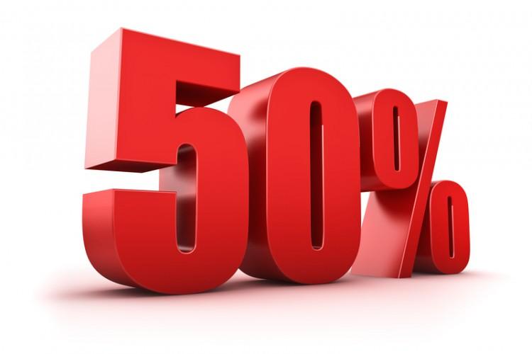 Картинки Скидка 50%