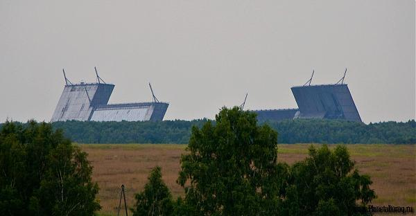 Russian early warning radar Dunay-3u