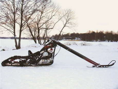 My Motorcycles News: THE chopper to ride during winter!