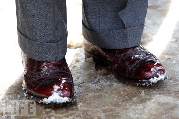 Les chaussures du prince Charles | redingote.