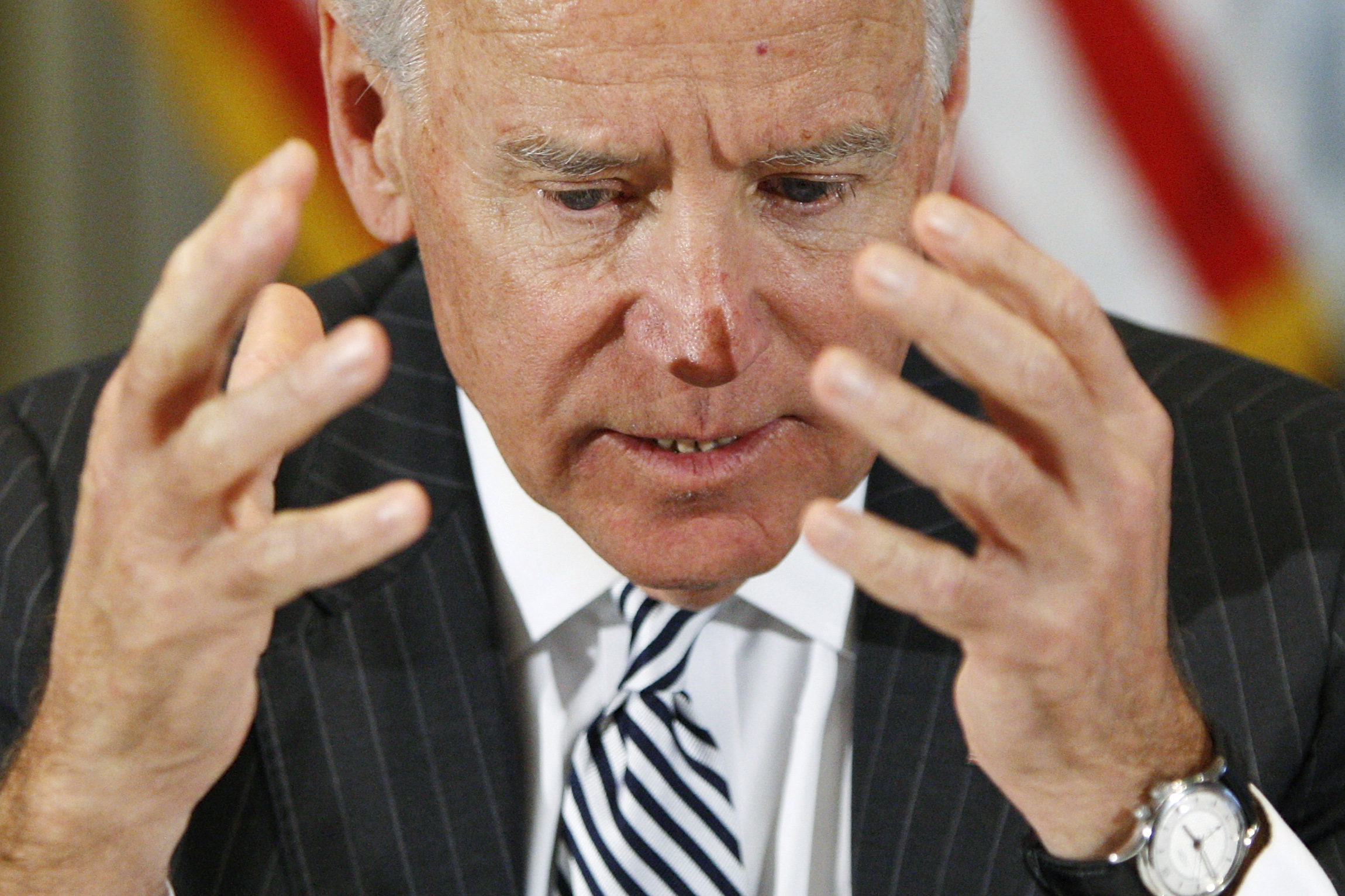 Biden Tackles US Gun Violence After Newtown Massacre