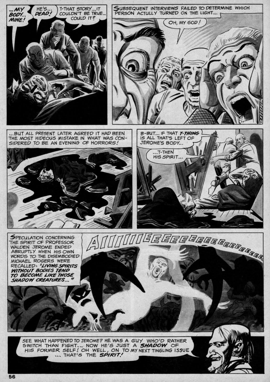 Classic Comics Cavalcade: Steve Ditko at Warren Magazines ...