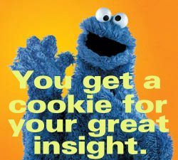 Cookie - You get a cookie - Threadbombing