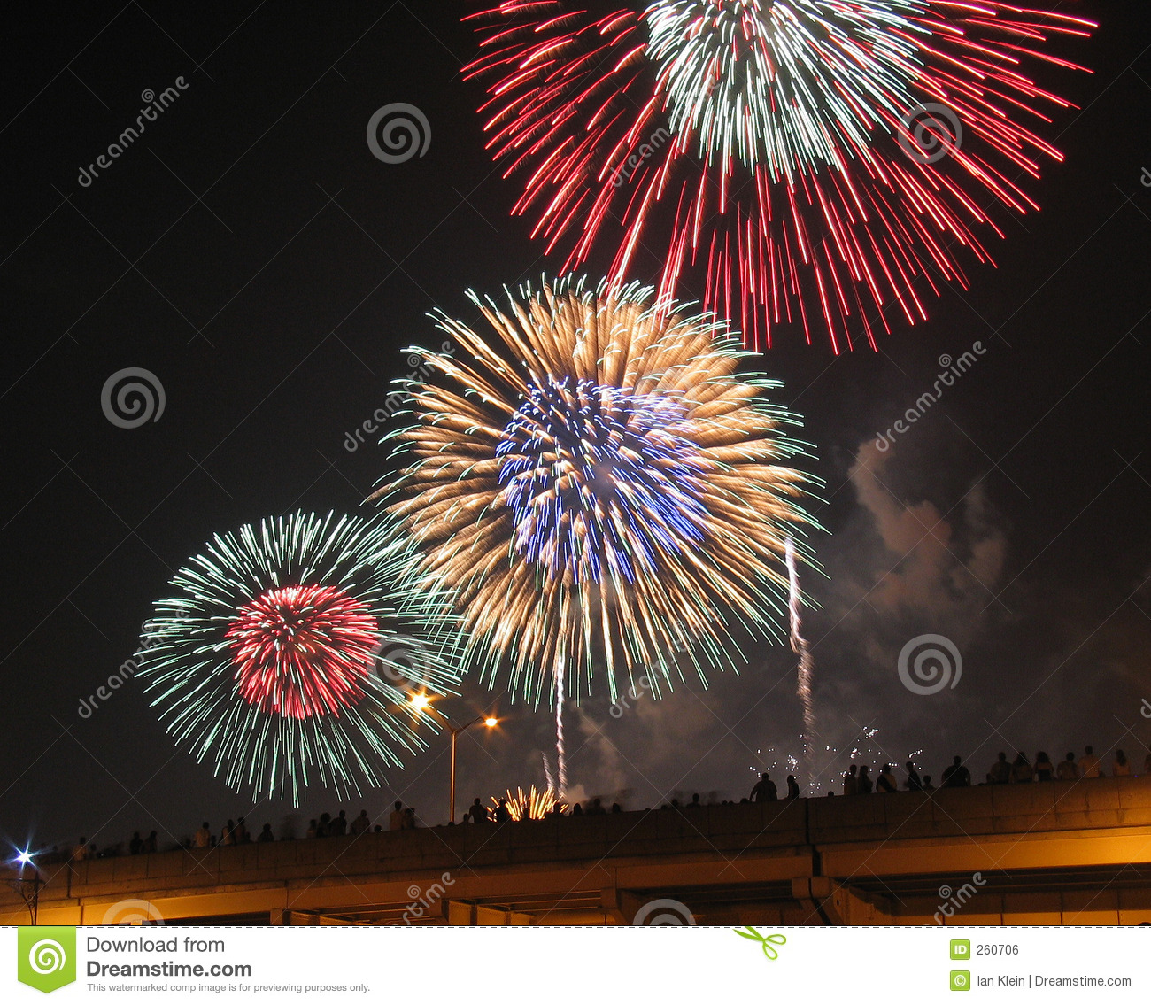 Fourth Of July Fireworks Royalty Free Stock Image - Image ...