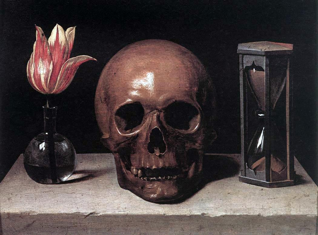File:Philippe de Champaigne Still-Life with a Skull.JPG ...