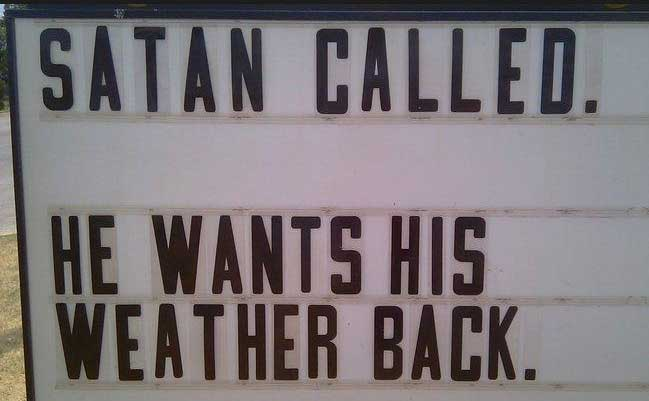 24 Signs It's Too Damn Hot Outside (GALLERY)