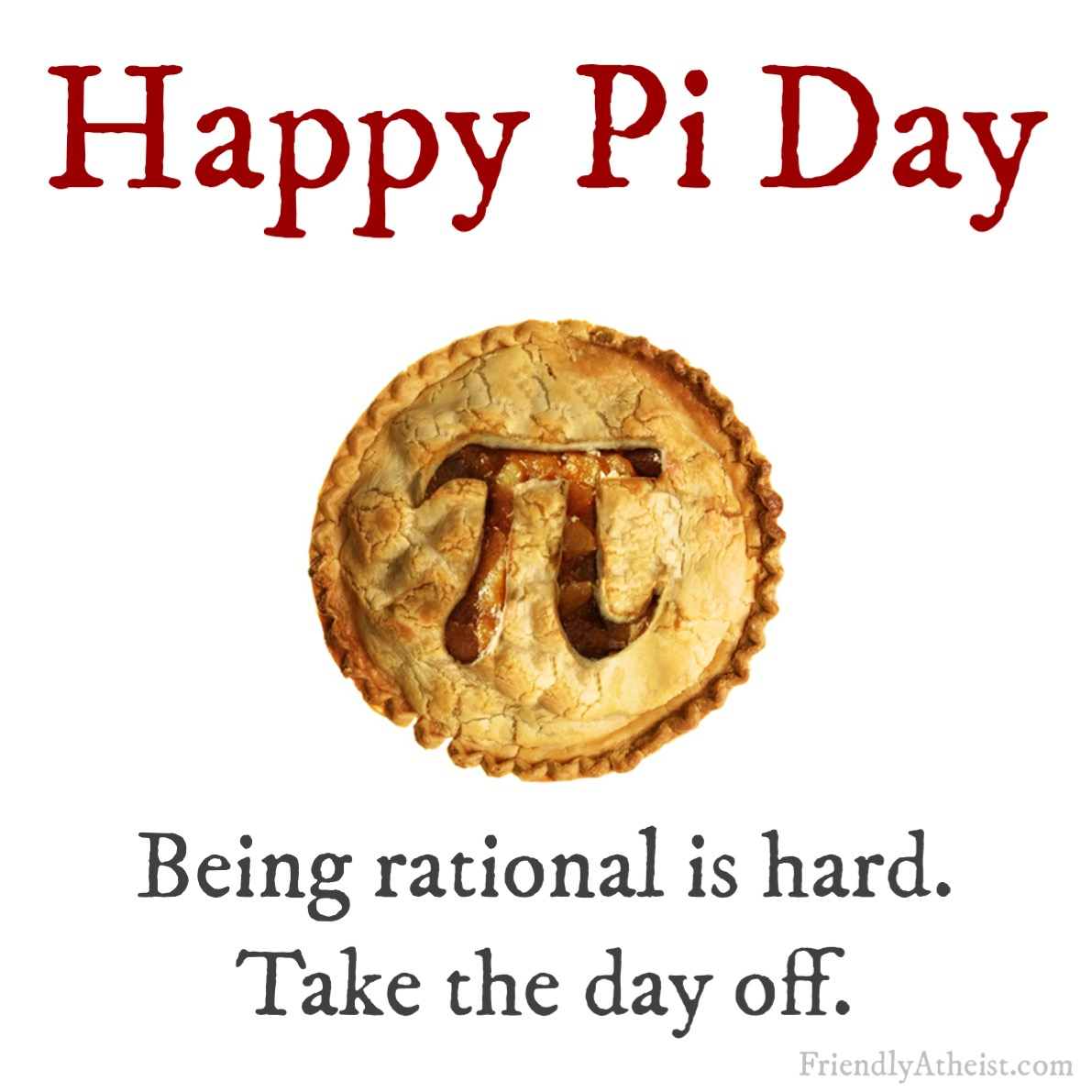 You Deserve a Happy Pi Day | Tracey Moody | Friendly Atheist | Patheos