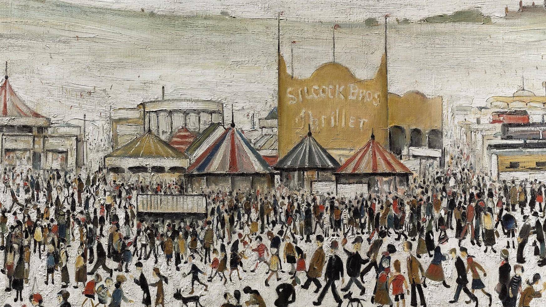 L. S. Lowry: el pintor de la industrialización | Bifurcaciones