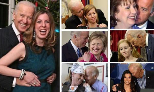 Biden does it in front of us! 'Outraged' Dems won't talk ...