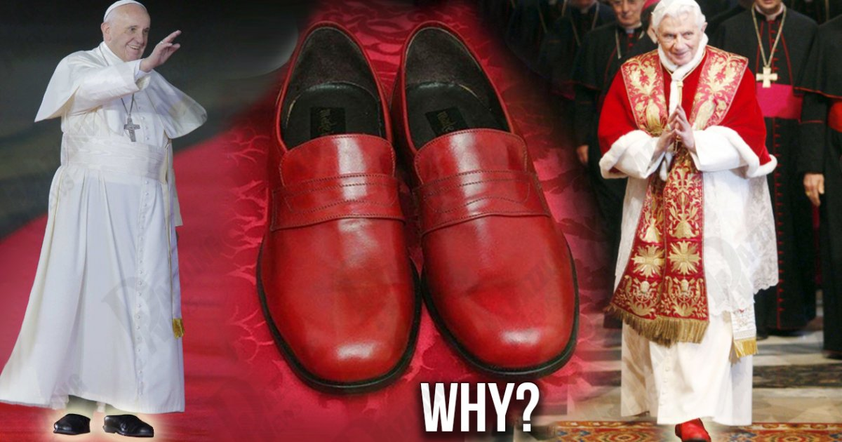 Why Pope Francis DOES NOT wear red shoes like his ...