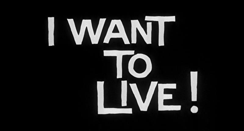 I Want To Live Blu-ray - Susan Hayward